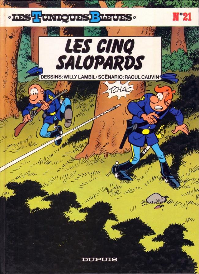 Couverture de Les tuniques Bleues -21- Les cinq salopards