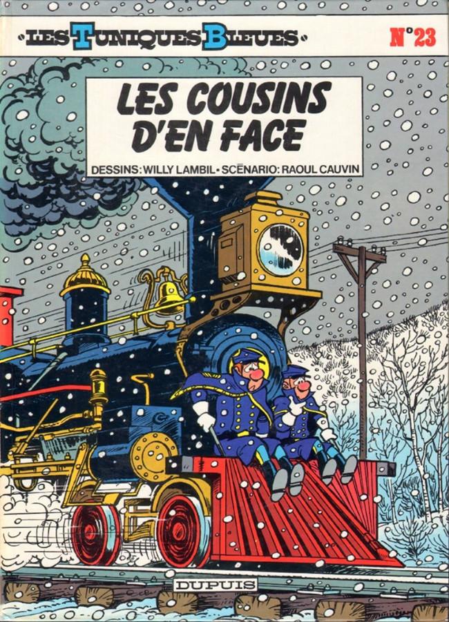 Couverture de Les tuniques Bleues -23- Les cousins d'en face