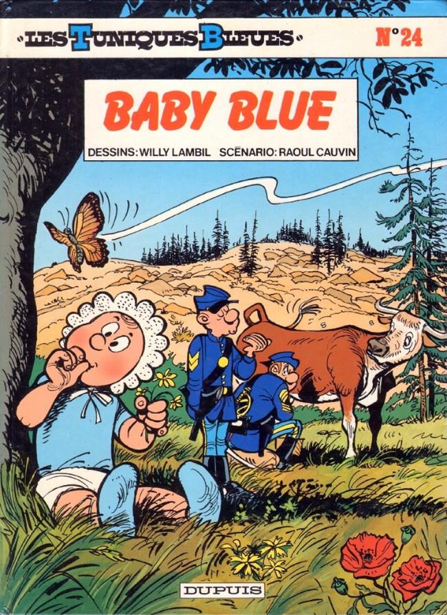 Couverture de Les tuniques Bleues -24- Baby blue