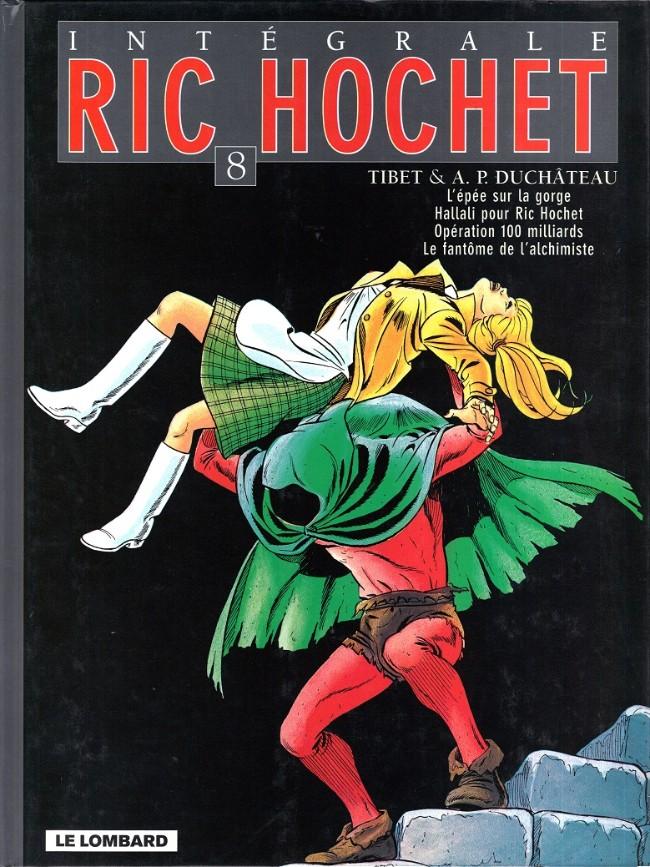 Couverture de Ric Hochet (Intégrale) -8- Tome 8