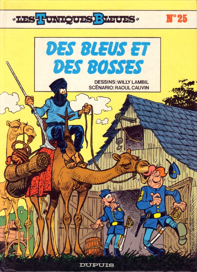 Couverture de Les tuniques Bleues -25- Des bleus et des bosses