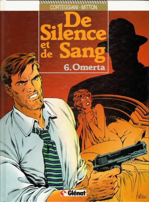 Couverture de De silence et de sang -6- Omerta
