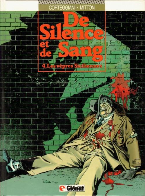 Couverture de De silence et de sang -4- Les vêpres siciliennes