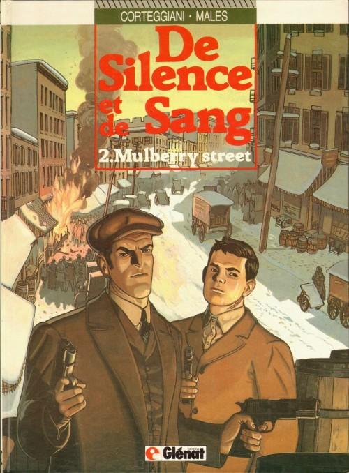 Couverture de De silence et de sang -2- Mulberry Street