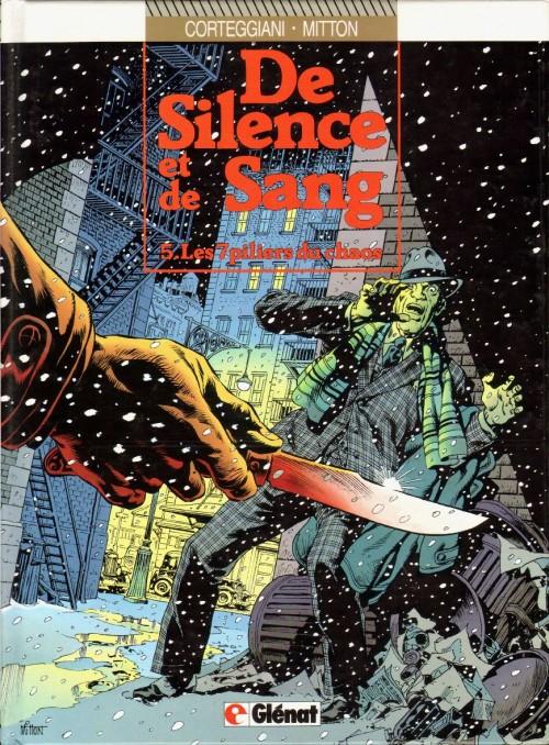 Couverture de De silence et de sang -5- Les 7 piliers du chaos