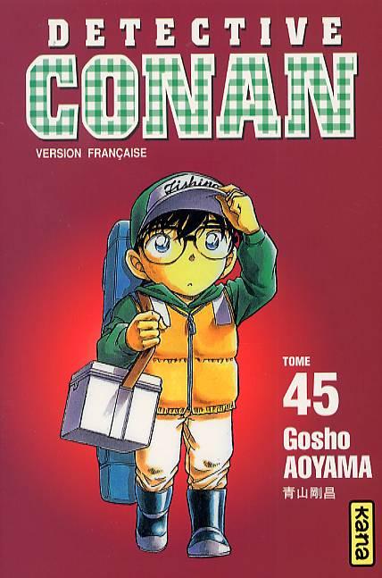 Couverture de Détective Conan -45- Tome 45