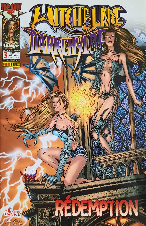 Couverture de Génération Comics présente -3- Witchblade Darkchylde : Rédemption