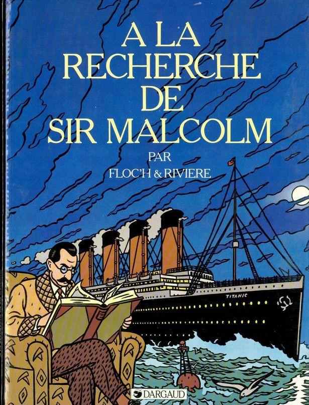Couverture de Albany & Sturgess -3- A la recherche de Sir Malcolm