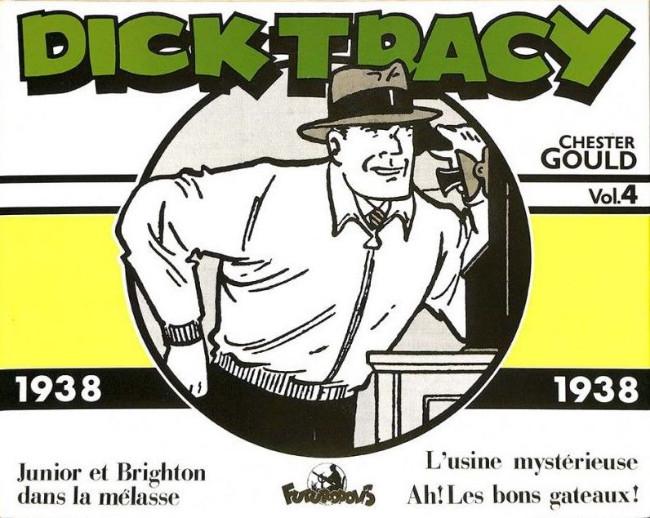Couverture de Dick Tracy -4INT- Vol.4 - 1938