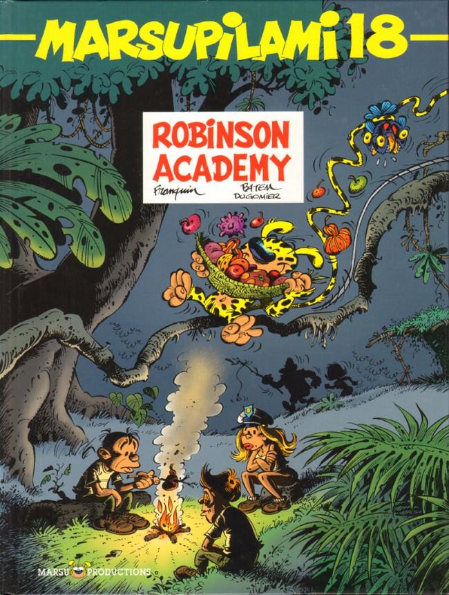 Couverture de Marsupilami -18- Robinson Academy