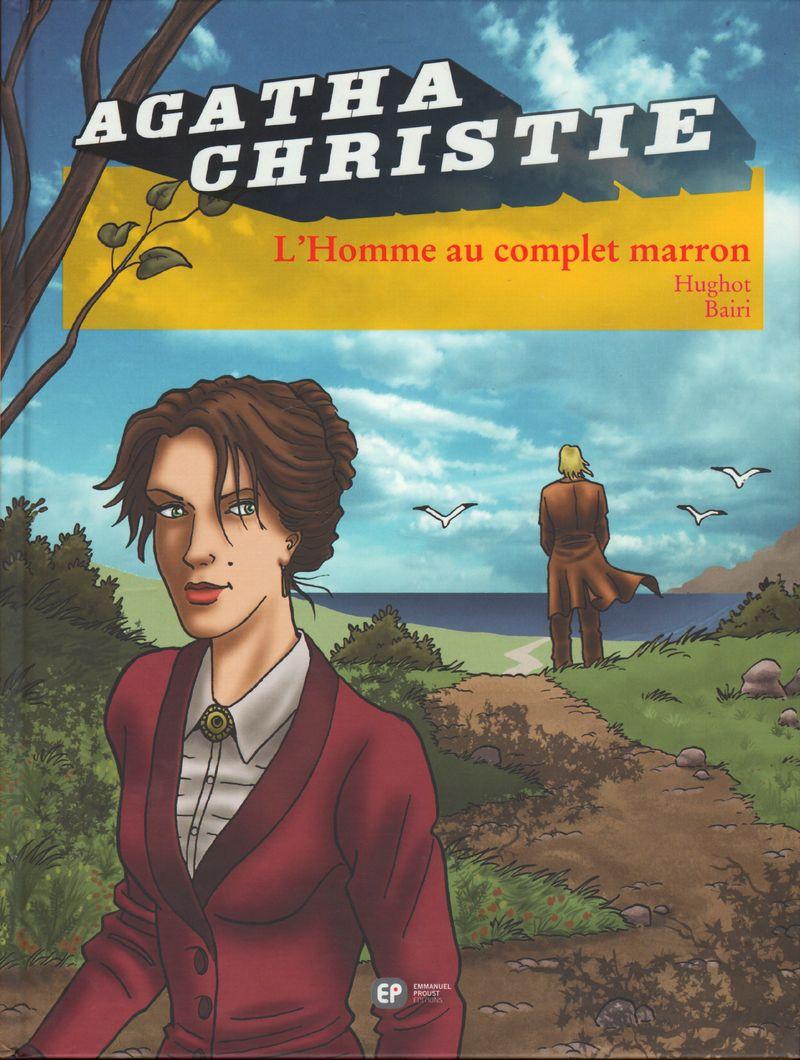 Couverture de Agatha Christie (Emmanuel Proust Éditions) -10- L'homme au complet marron