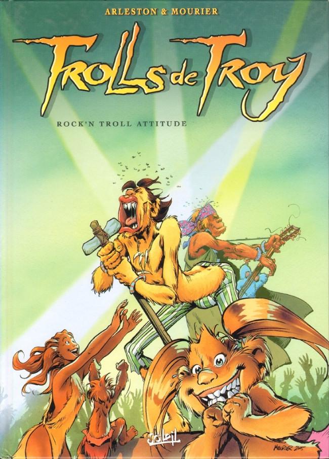 Couverture de Trolls de Troy -8- Rock'N Troll Attitude