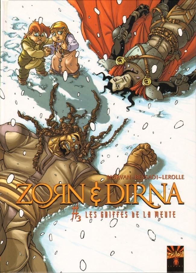 Couverture de Zorn & Dirna -3- Les griffes de la meute