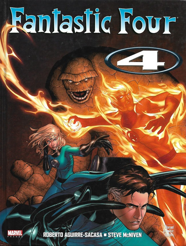Couverture de Fantastic Four (Marvel Graphic Novels) - Fantastic Four : 4