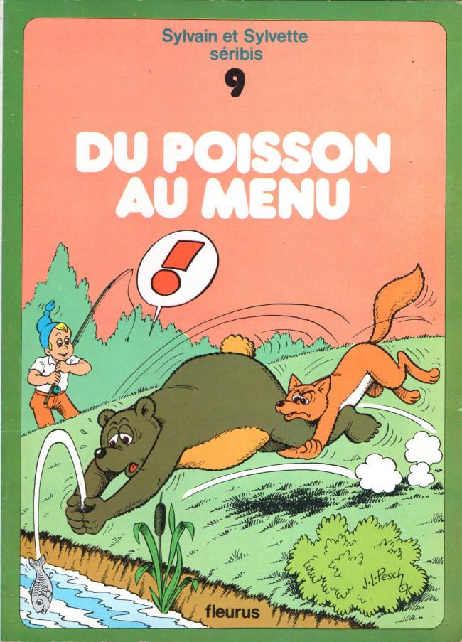 Couverture de Sylvain et Sylvette -9- Du poisson au menu