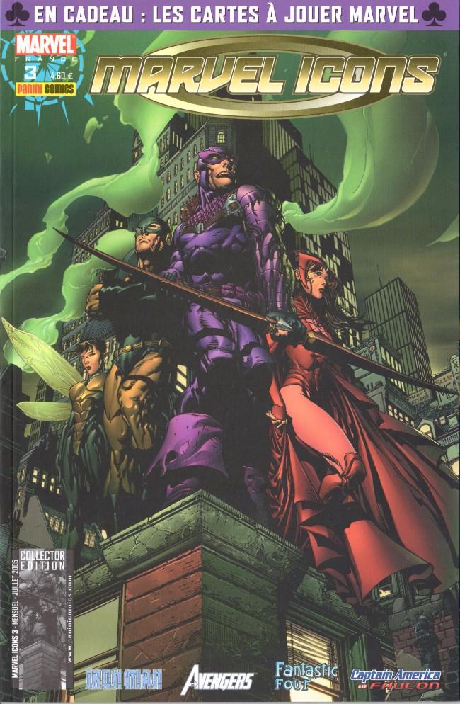Couverture de Marvel Icons (Marvel France - 2005) -3- J'ai fait un rêve