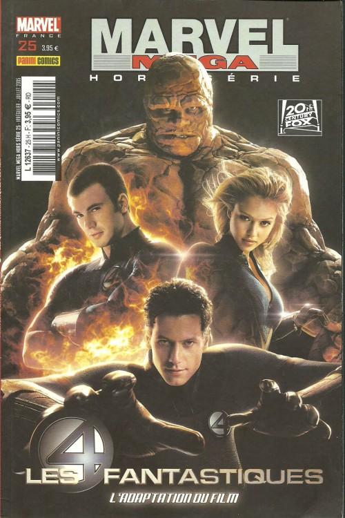 Couverture de Marvel Méga Hors Série -25- Les Quatre Fantastiques : le film