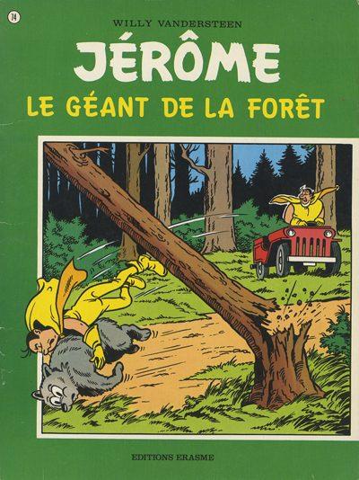 Couverture de Jérôme -74- Le géant de la forêt