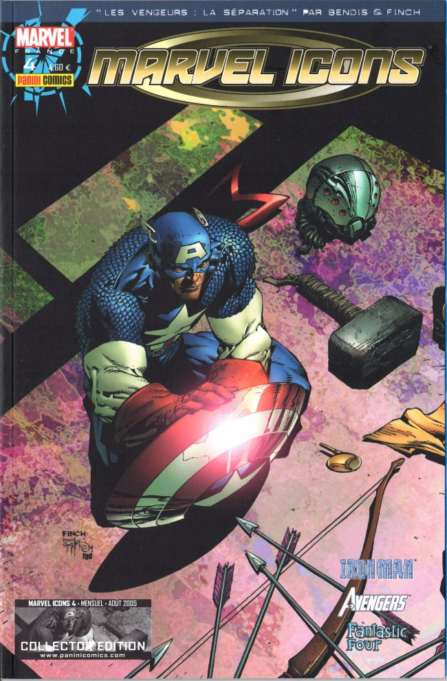 Couverture de Marvel Icons (Marvel France - 2005) -4- Chaos