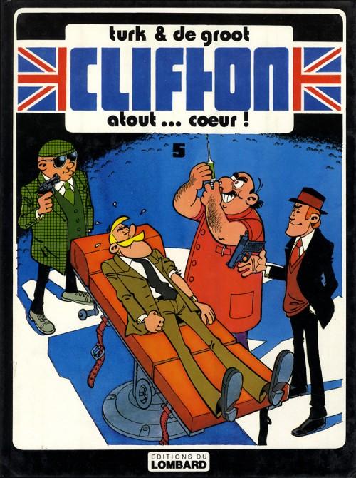 Couverture de Clifton -5- Atout... cœur !