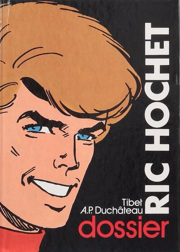 Couverture de Ric Hochet -HS3- Dossier Ric Hochet