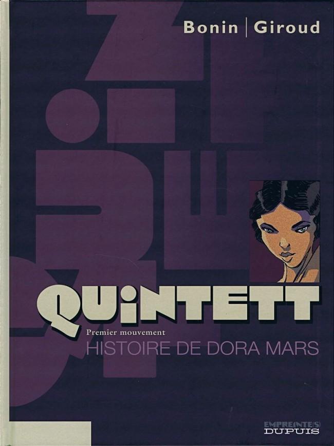 Couverture de Quintett -1- Premier mouvement : Histoire de Dora Mars
