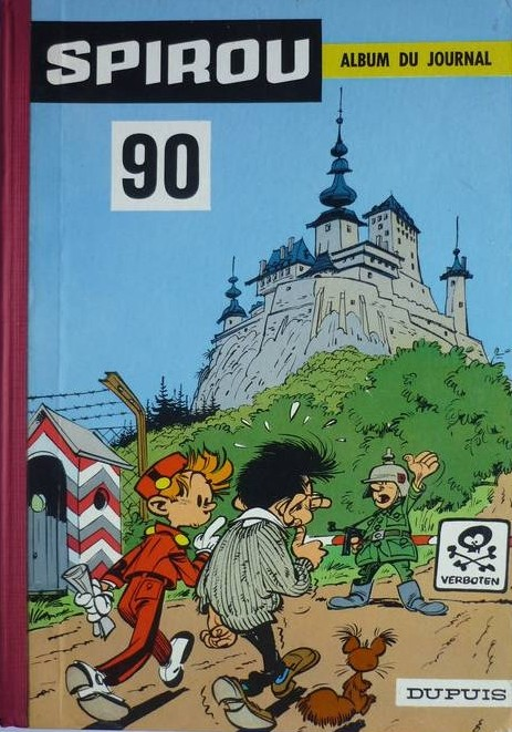 Couverture de (Recueil) Spirou (Album du journal) -90- Spirou album du journal