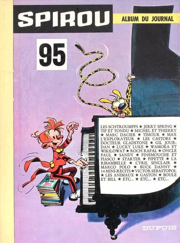 Couverture de (Recueil) Spirou (Album du journal) -95- Spirou album du journal
