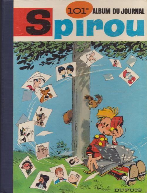 Couverture de (Recueil) Spirou (Album du journal) -101- Spirou album du journal