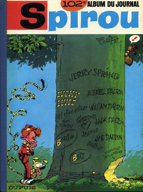 Couverture de (Recueil) Spirou (Album du journal) -102- Spirou album du journal