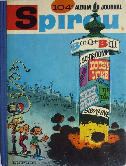 Couverture de (Recueil) Spirou (Album du journal) -104- Spirou album du journal