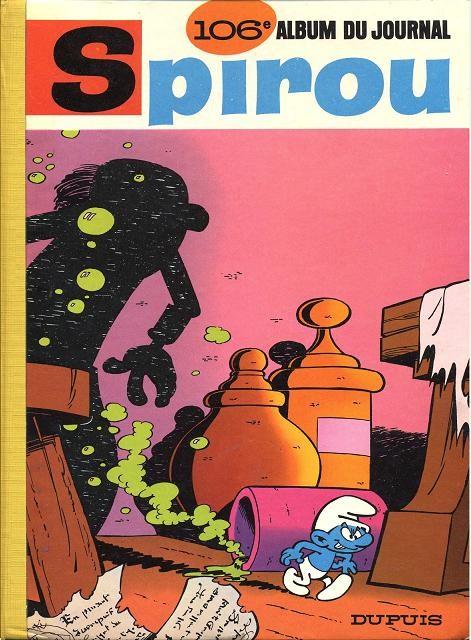 Couverture de (Recueil) Spirou (Album du journal) -106- Spirou album du journal