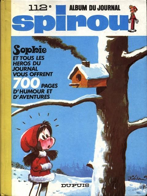 Couverture de (Recueil) Spirou (Album du journal) -112- Spirou album du journal