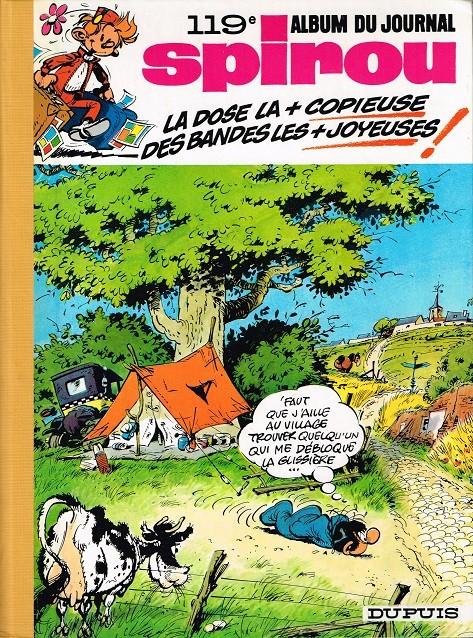 Couverture de (Recueil) Spirou (Album du journal) -119- Spirou album du journal