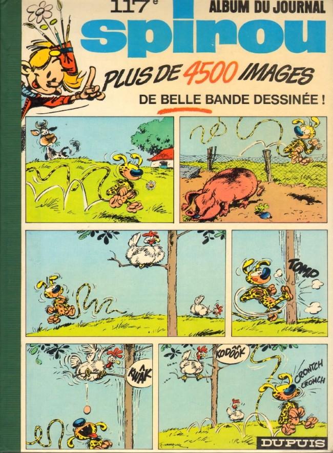 Couverture de (Recueil) Spirou (Album du journal) -117- Spirou album du journal