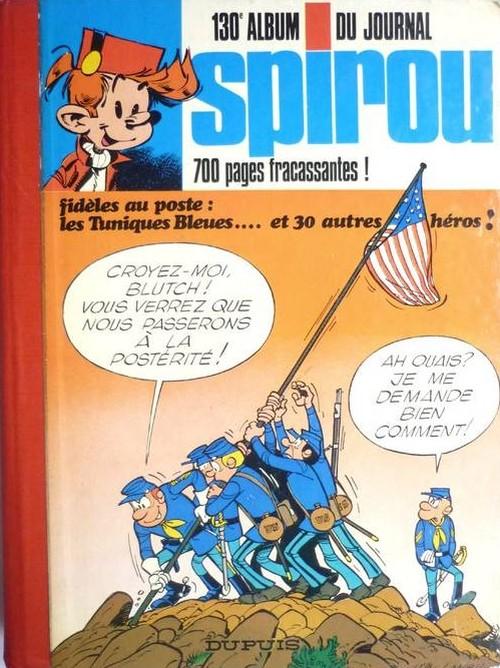 Couverture de (Recueil) Spirou (Album du journal) -130- Spirou album du journal