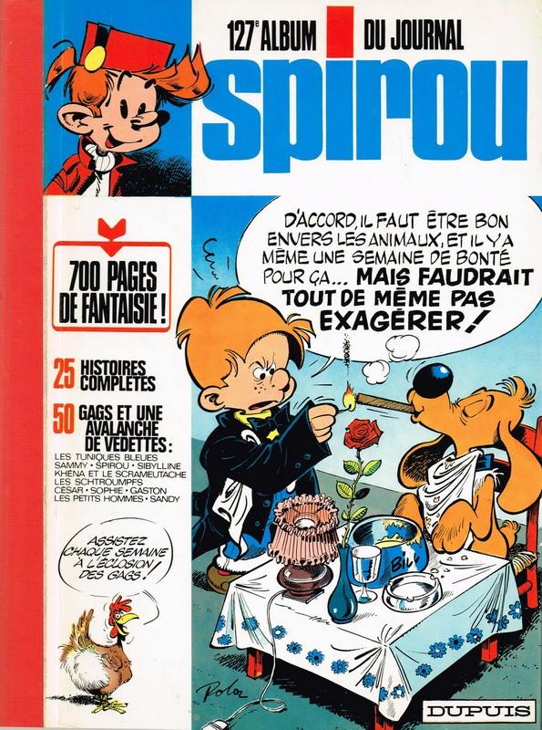 Couverture de (Recueil) Spirou (Album du journal) -127- Spirou album du journal