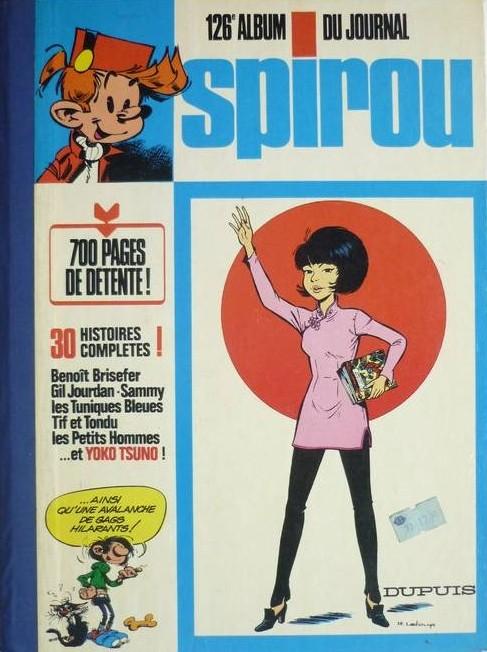 Couverture de (Recueil) Spirou (Album du journal) -126- Spirou album du journal