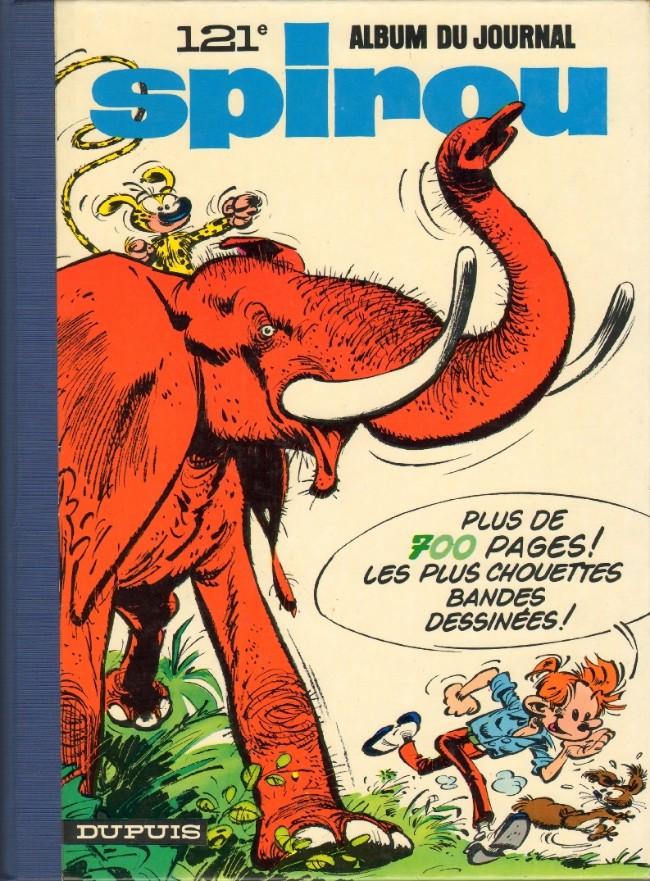 Couverture de (Recueil) Spirou (Album du journal) -121- Spirou album du journal