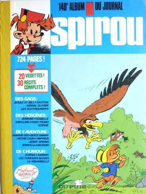 Couverture de (Recueil) Spirou (Album du journal) -140- Spirou album du journal