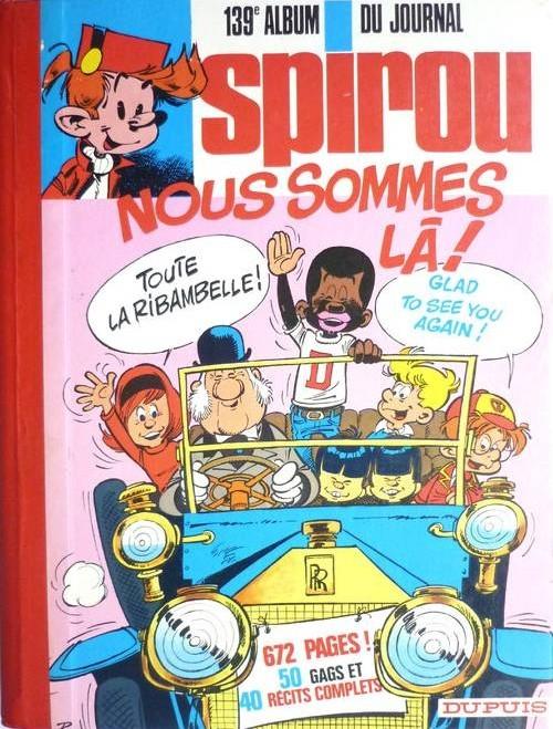 Couverture de (Recueil) Spirou (Album du journal) -139- Spirou album du journal