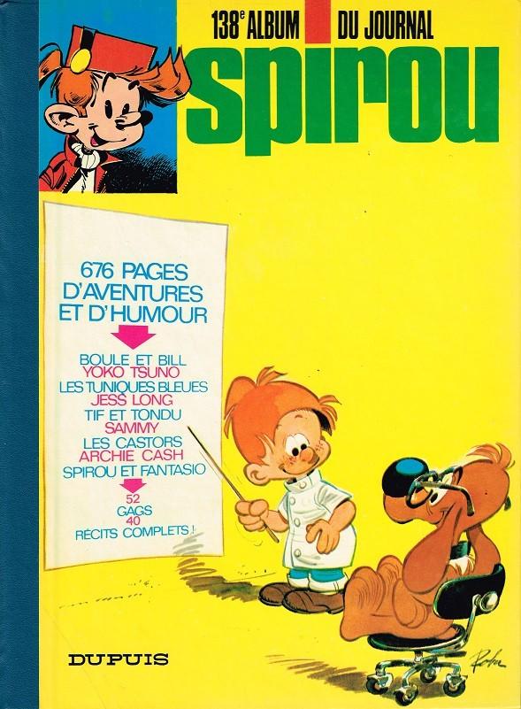 Couverture de (Recueil) Spirou (Album du journal) -138- Spirou album du journal