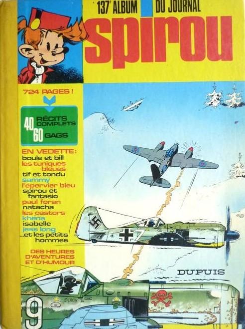 Couverture de (Recueil) Spirou (Album du journal) -137- Spirou album du journal