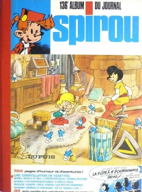 Couverture de (Recueil) Spirou (Album du journal) -136- Spirou album du journal