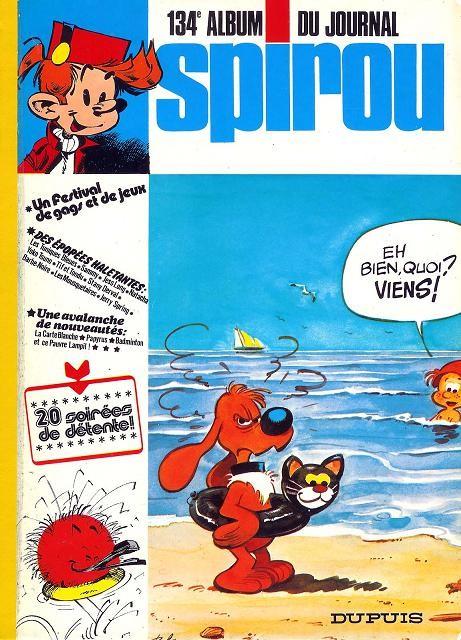 Couverture de (Recueil) Spirou (Album du journal) -134- Spirou album du journal