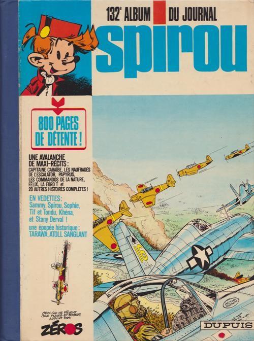 Couverture de (Recueil) Spirou (Album du journal) -132- Spirou album du journal