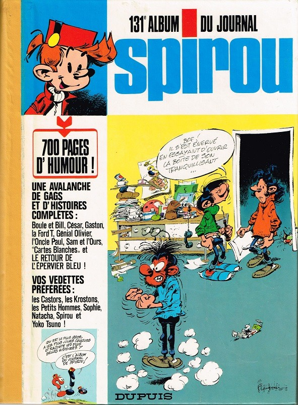 Couverture de (Recueil) Spirou (Album du journal) -131- Spirou album du journal