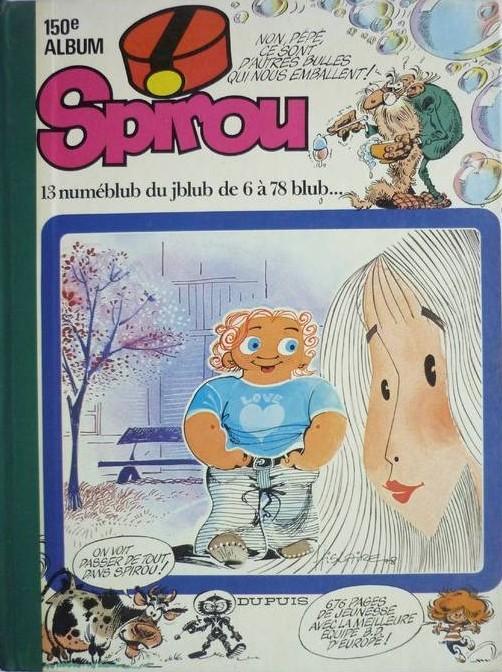 Couverture de (Recueil) Spirou (Album du journal) -150- Spirou album du journal