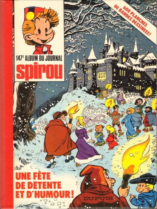Couverture de (Recueil) Spirou (Album du journal) -147- Spirou album du journal