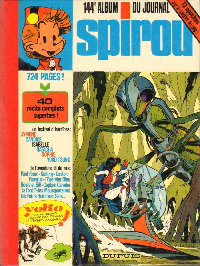 Couverture de (Recueil) Spirou (Album du journal) -144- Spirou album du journal
